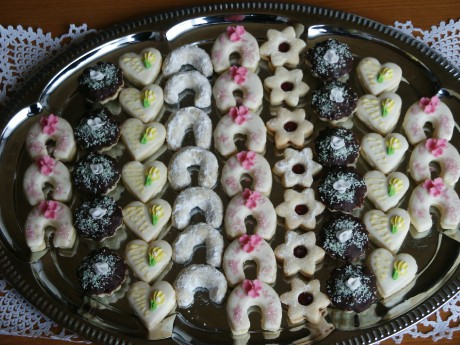 Svatební a vánoční cukroví